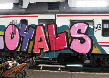 Nueve grafiteros detenidos por causar daños por valor de 420.000 euros
