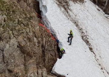 Muere un montañero tras caer 100 metros en el pico Infiernos de Panticosa