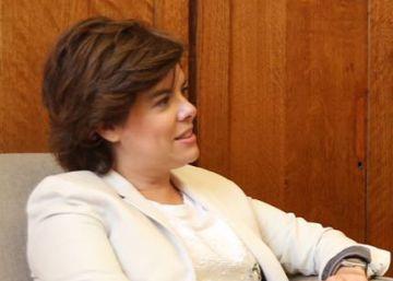 Soraya Sáenz de Santamaría anuncia que deja la política