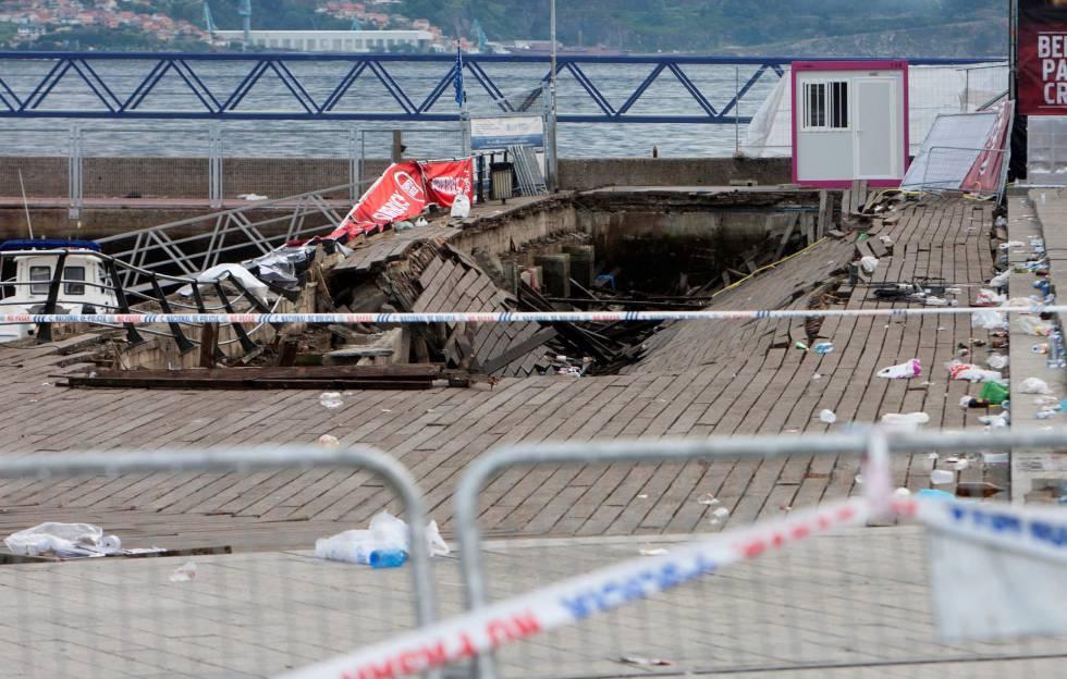 Ayuntamiento y Puerto se responsabilizan de los fallos en el accidente de Vigo