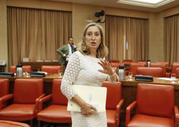 Ana Pastor pide a Torra que vaya al Congreso a debatir sobre Cataluña