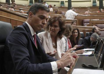 El PDeCAT retira su moción a favor del diálogo pactada con el PSOE