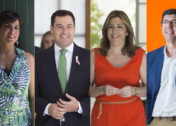 En directo | Primer debate de las elecciones andaluzas: Moreno (PP) y Marín (Ciudadanos) protagonizan el primer encontronazo por el apoyo de Ciudadanos al Gobierno de Díaz