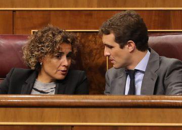 Pablo Casado exige a Ciudadanos que presente una moción de censura en Cataluña