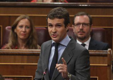 """Casado dice que hay """"1.000 millones de ayudas malversadas en cocaína y juergas"""" en Andalucía"""