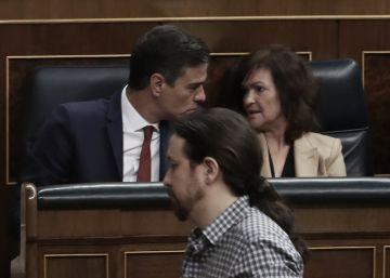 Pedro Sánchez y Pablo Iglesias cierran un pacto para los Presupuestos
