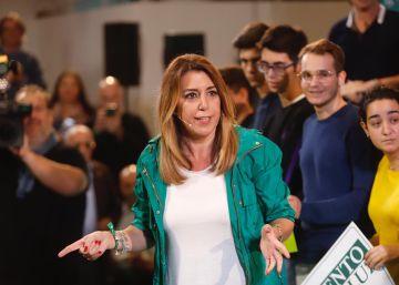Díaz arremete contra los líderes de PP y Ciudadanos y advierte contra un posible bloqueo