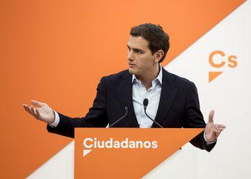Rivera convoca una nueva protesta contra Sánchez en Barcelona