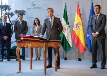El consejero de Hacienda de la Junta de Andalucía dimite por motivos de salud