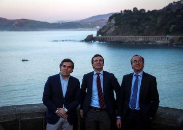 La radicalización del discurso de Casado preocupa en el PP vasco más moderado