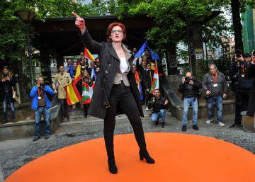 "Discurso de Maite Pagazaurtundúa en Errenteria: ""No sois antifascistas, sois matones 'abertzales"""