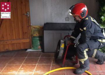 Muere un hombre de 33 años en un incendio en Castellón