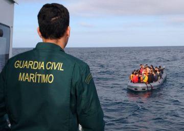 El repunte de las pateras rompe la tendencia a la baja de la inmigración irregular
