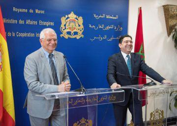 Borrell promete en Marruecos agilizar la concesión de visados temporales