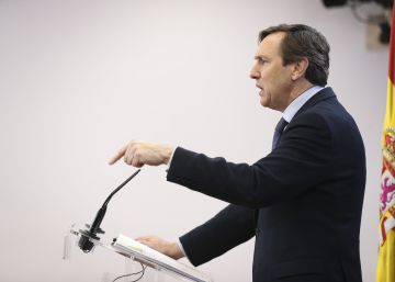 Hernando marca perfil como la voz del PP en el Senado