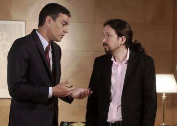 Iglesias reclama a Sánchez una ?negociación integral? y lanza la consulta a sus bases