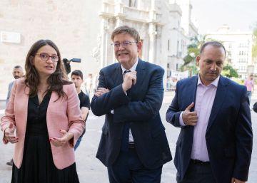 Oltra sale en apoyo de Puig en la polémica por sus acciones en un periódico