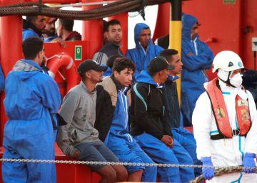 Los emigrantes marroquíes sortean el control de Rabat