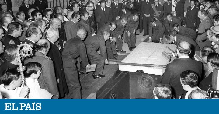 Cuatro hombres sin rostro enterraron a Franco en 1975