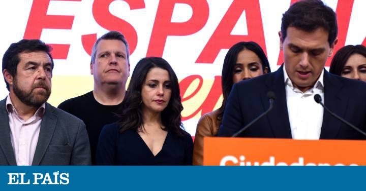 Ciudadanos leader Albert Rivera quits after election debacle