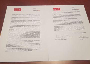 Texto íntegro del preacuerdo de PSOE y Unidas Podemos para un Gobierno de coalición