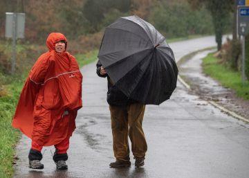Galicia no vio el sol en noviembre: llovió todos los días