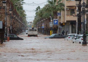 El temporal de lluvia y viento se desplaza a Comunidad Valenciana, Baleares y Cataluña