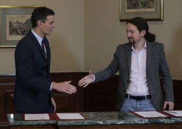 El pacto con acento social de PSOE y Podemos da un acelerón a la investidura