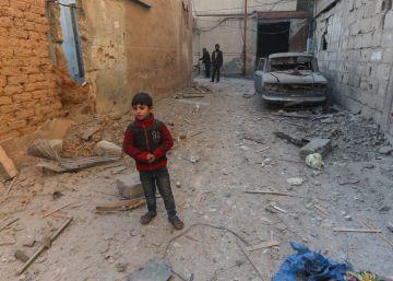 ¿Cómo quedaría tu barrio tras un bombardeo?