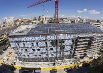 Así se construye uno de los cuatro hospitales más sostenibles del planeta