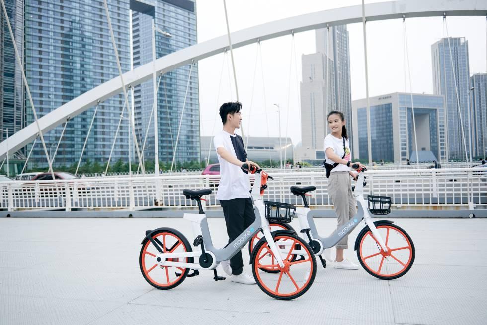 Mobike prepara el lanzamiento en España de bicis eléctricas sin amarre
