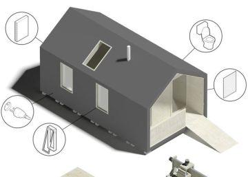 Descarga los planos de tu casa y móntala como un mueble de Ikea