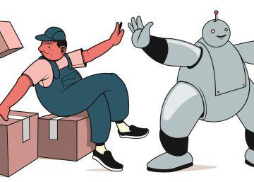 La amistad entre humanos y robots es la clave del progreso