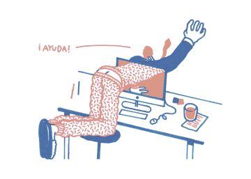 La soledad del 'freelance' es un hándicap para su productividad