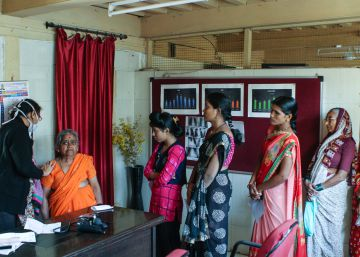 Objetivo: salvar del cáncer a miles de mujeres en India