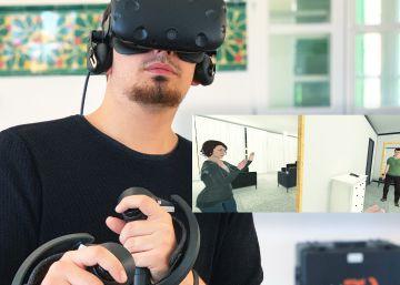 Realidad virtual para detener los golpes del maltrato machista