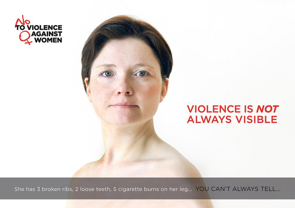 Fotos Carteles Contra La Violencia De Género Sociedad