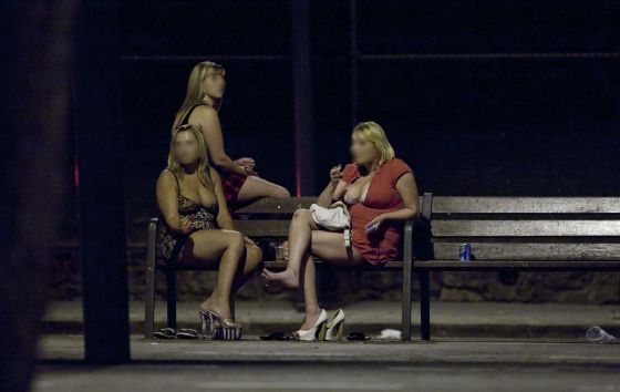 prostitución voluntaria prostitutas de club