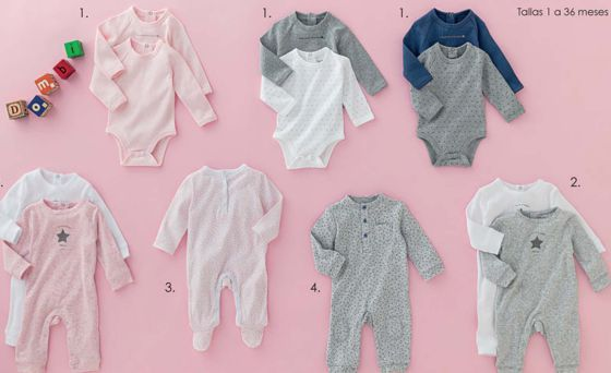 ropa de bebe hipercor