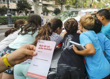 Los niños toman las calles para decir cómo debería ser su ciudad siguiendo el plan de Tonucci