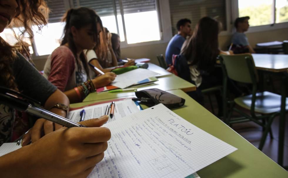 Filosofía abre el debate sobre la gran reforma de la escuela