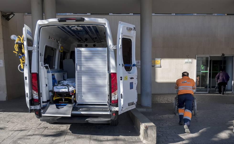 Ambulancias en estado crítico