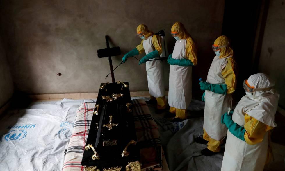 El ébola alcanza los 521 muertos en el Congo