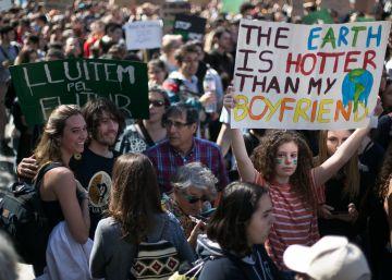 La protesta global contra el cambio climático prende en España