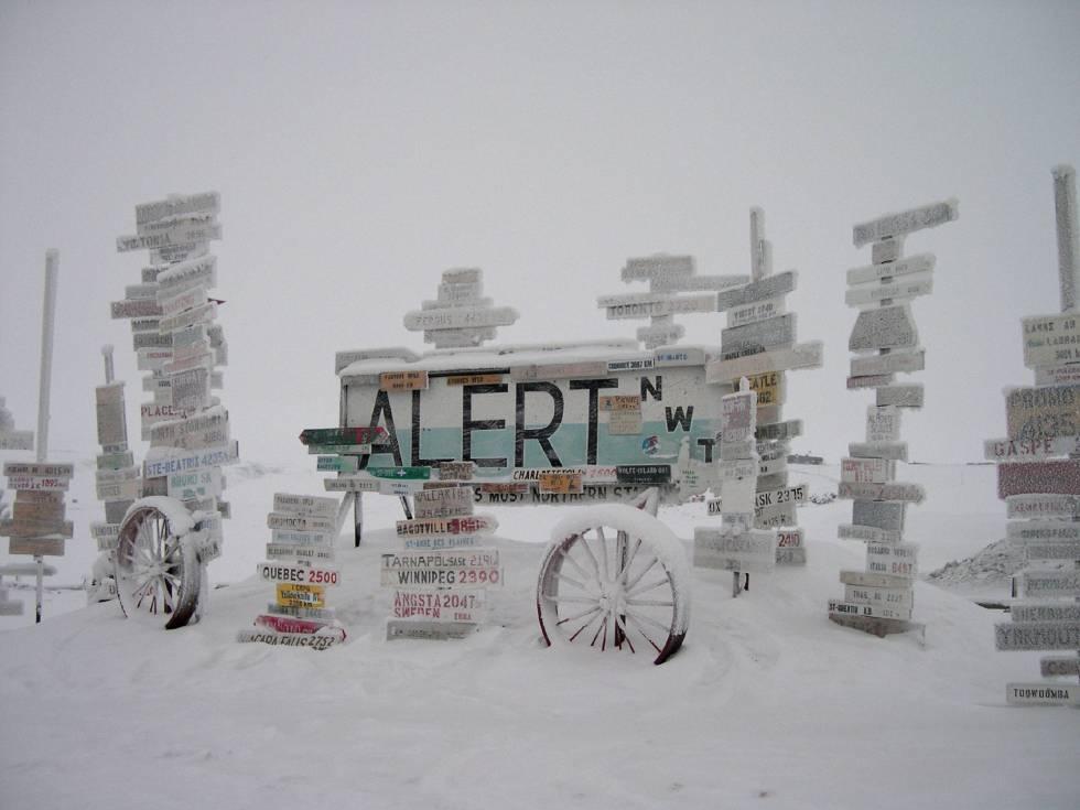 Alerta en Alert: récord de calor en el asentamiento más septentrional del mundo