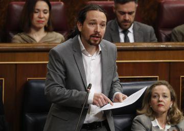 Iglesias comparece por primera vez en la Comisión de Derechos Sociales