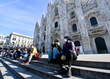La psicosis del aislamiento se apodera de Italia