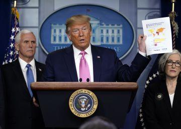 Trump nombra al vicepresidente Pence a cargo de la crisis del coronavirus