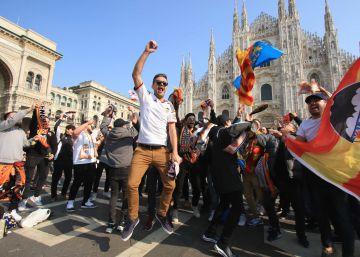 Un periodista que viajó a Milán para cubrir el Valencia-Atalanta, positivo por coronavirus