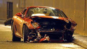 Subasta De Carros >> A subasta un Ferrari destrozado por Cristiano | Tecnología ...